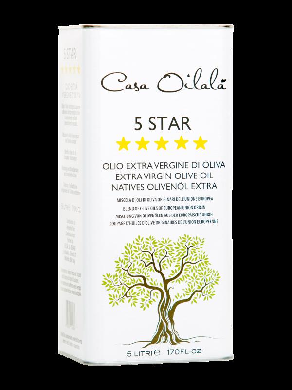 olio extravergine 5 star