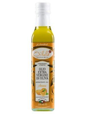 olio extravergine aromatizzato arancia